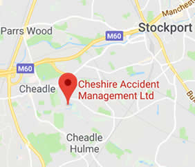 map and directions to Cheshire Accident Management Ltd